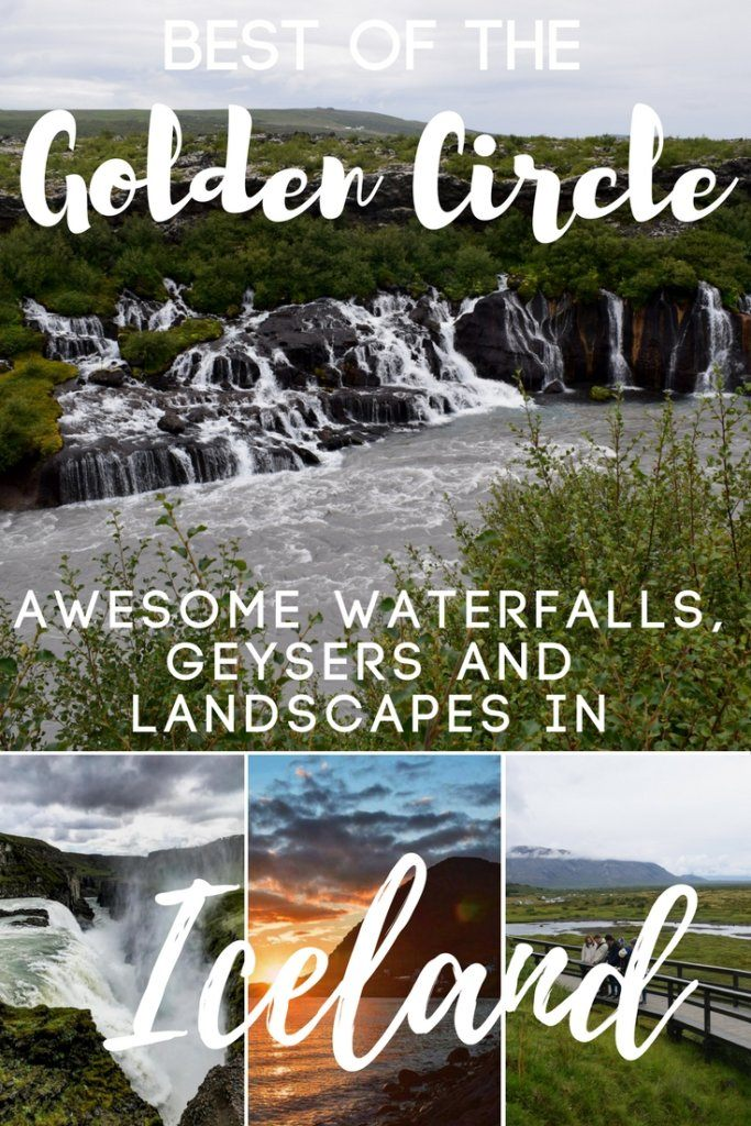 With its waterfalls, geysers and epic landscapes the Golden Circle is one of the most famous and visited parts of Iceland. This map & guide covers all the main attractions and places you need to visit along Iceland's Golden Circle. So come discover everything you need to know about visiting the Golden Circle in Iceland. #iceland #goldencircle #europe #waterfall #geysir #nature #goldencirclemap