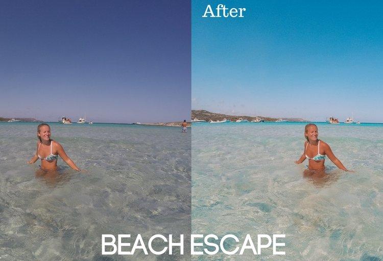 Beach Escape Preset