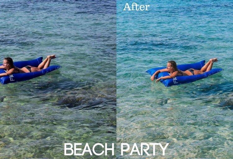 Beach Party Preset
