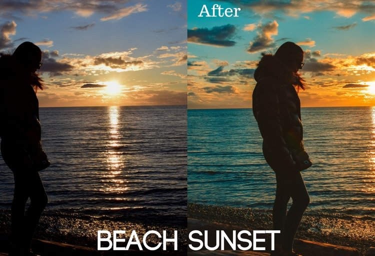 Beach Sunset Preset