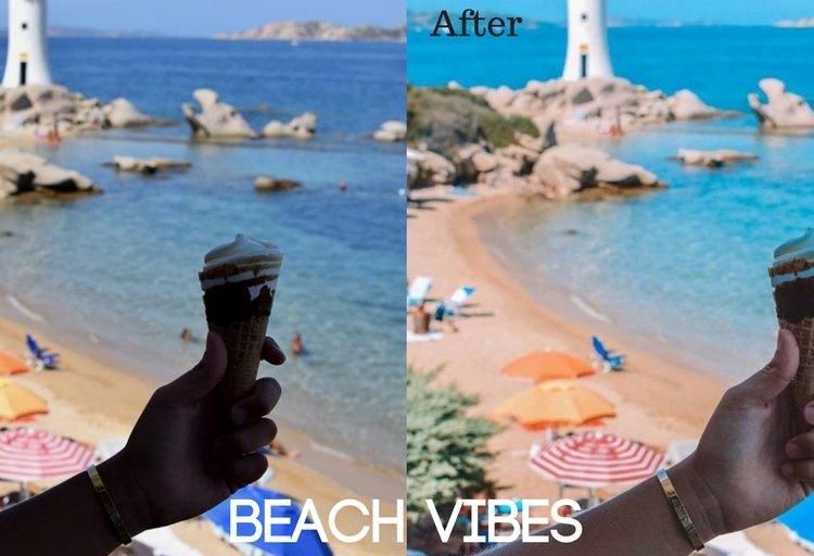 Beach Vibes Preset