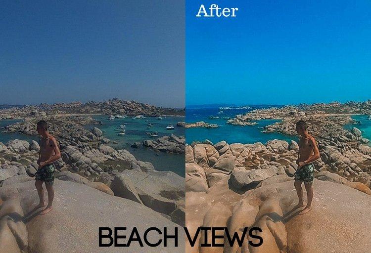 Beach Views Preset