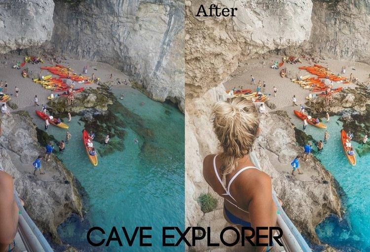 Cave Explorer Preset