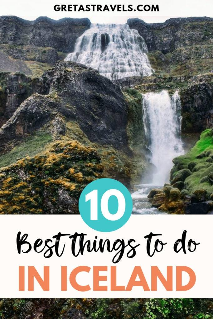 If you're planning a trip to Iceland these 10 must-see places can't miss from your itinerary. Find out the best places to visit and things to do in Iceland. #iceland #europe #icelantraveltips #icelandtraveladvice #traveltips #traveladvice