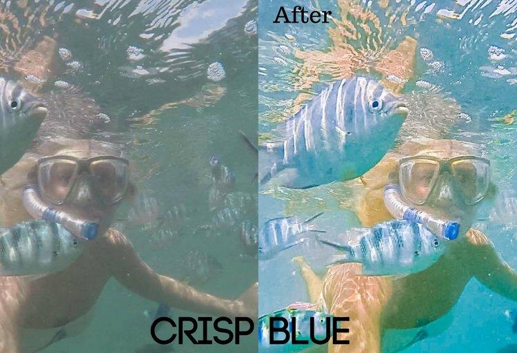 Crisp Blue Preset