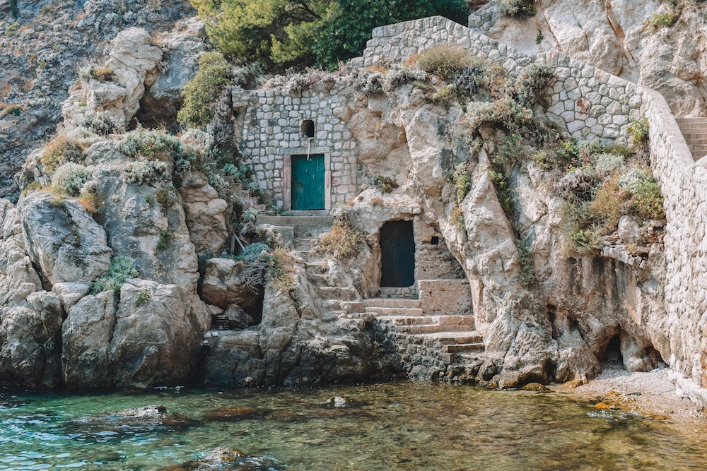 One of the Game of Thrones filming spots in Dubrovnik