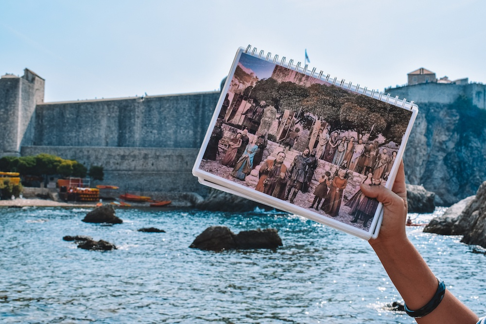 Pile Harbour in Dubrovnik, used in Game of Thrones season 2, episode 6, when Marcella leaves for Dorne
