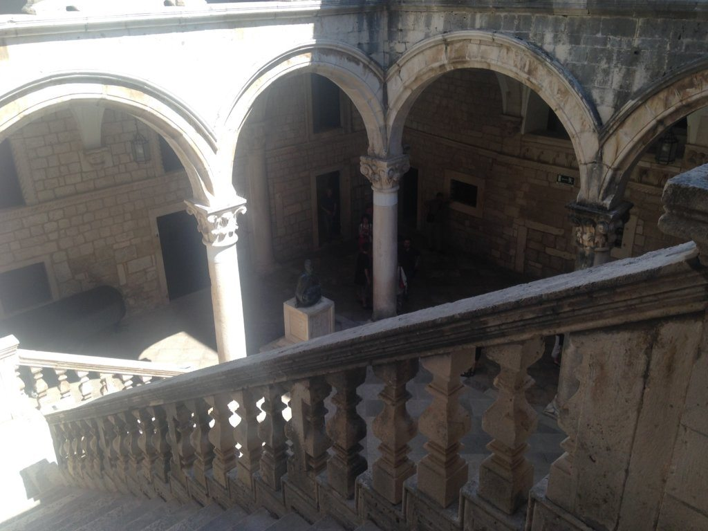 The Rector's Palace in Dubrovnik, which was used as the set for Qarth in Season X
