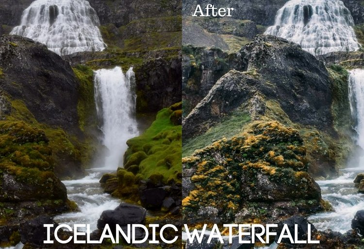 Icelandic Waterfall Preset