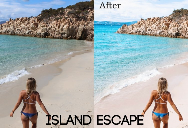 Island Escape Preset