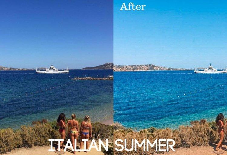 Italian Summer Preset