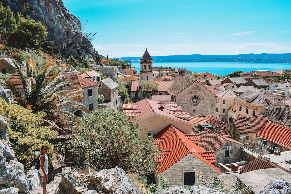 Wandering around the Old Town of Omis, Croatia