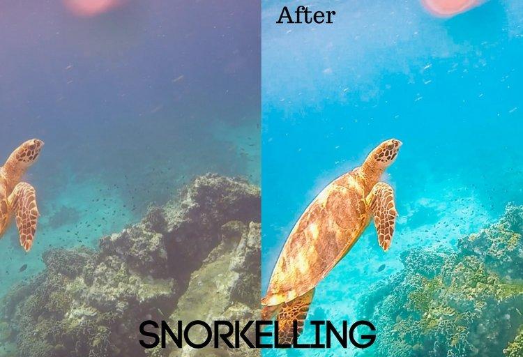 Snorkelling Preset