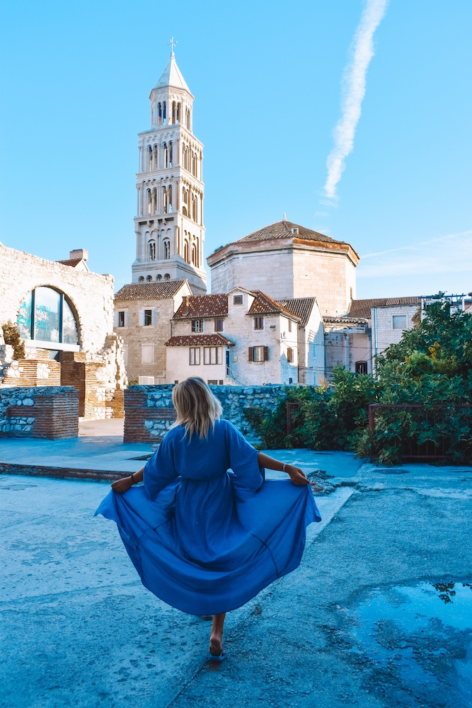 Exploring the Old Town of Split, Croatia