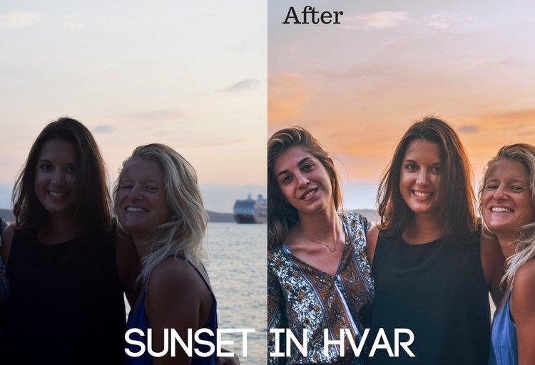 Sunset in Hvar Preset