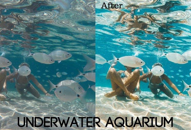 Underwater Aquarium Preset