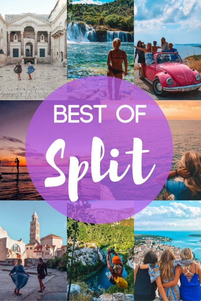 Split is beautiful city in Croatia with lots of exciting things to do both in the city and its surroundings. Discover the best things to do in Split, Croatia, with this complete travel guide #croatia #split #europe #dalmatiancoast #hvar #krka #omis #traveladvice #travelguide