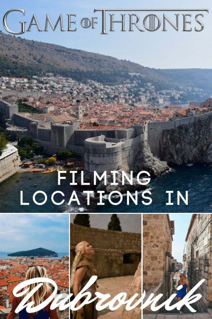 Dubrovnik in Croatia is better known to Game of Thrones fans as King's Landing. Various spots inside the Old Town of this beautiful city have been used as set for the TV show. If you're planning a trip to Dubrovnik and want to do your own Game of Thrones walking tour, check this out!
