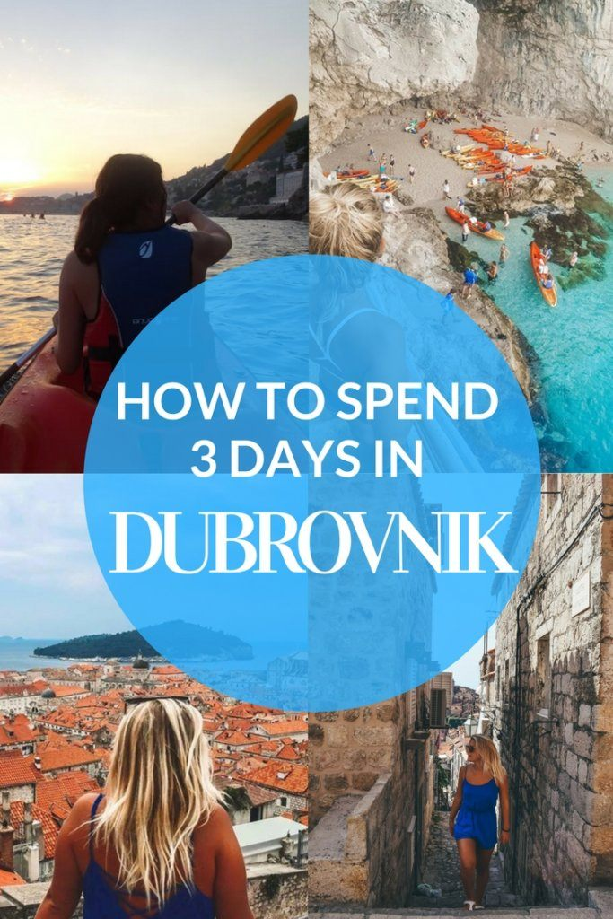 Planning a short getaway to Dubrovnik and don't know what to do in Dubrovnik? Find out the best things to do and places to see if you only have 3 days to visit this beautiful city in Croatia. #croatia #dubrovnik #sunsetkayak #gameofthrones