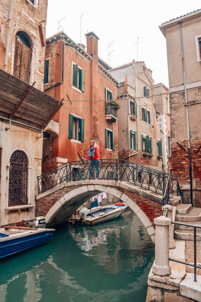 Exploring the side streets, canals and bridges of Venice, Italy