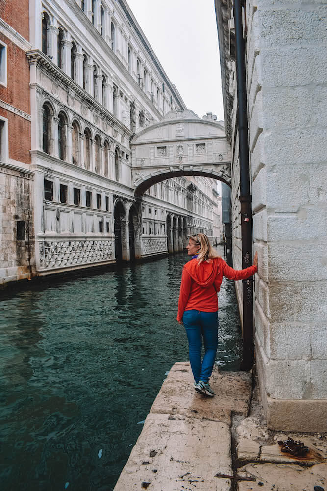 The Ponte dei Sospiri in Venice, Italy, one of the main things to see in the city