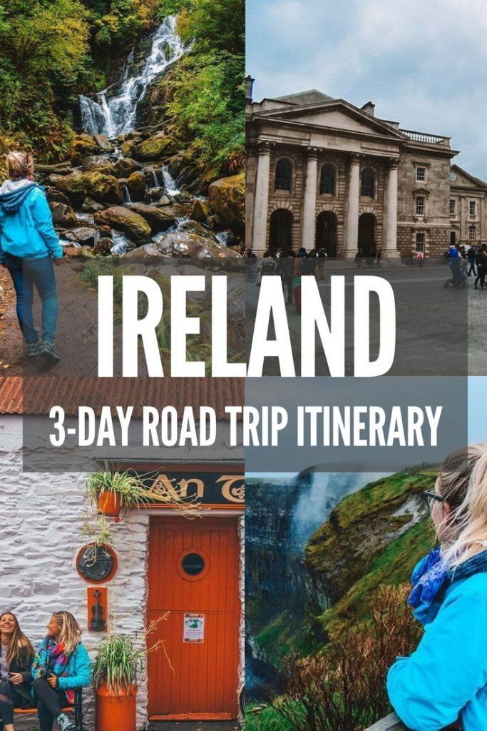 Find out how the best road trip itinerary that will allow you to see the most of Ireland in just 3 days. Including Cork, Galway, Killarney, the Cliffs of Moher and Dublin.