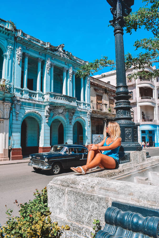 Exploring the streets and colonial buildings of Havana, Cuba