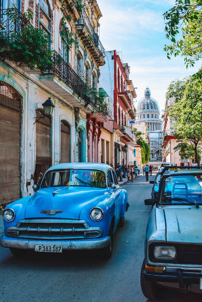 The colourful streets of Havana, Cuba