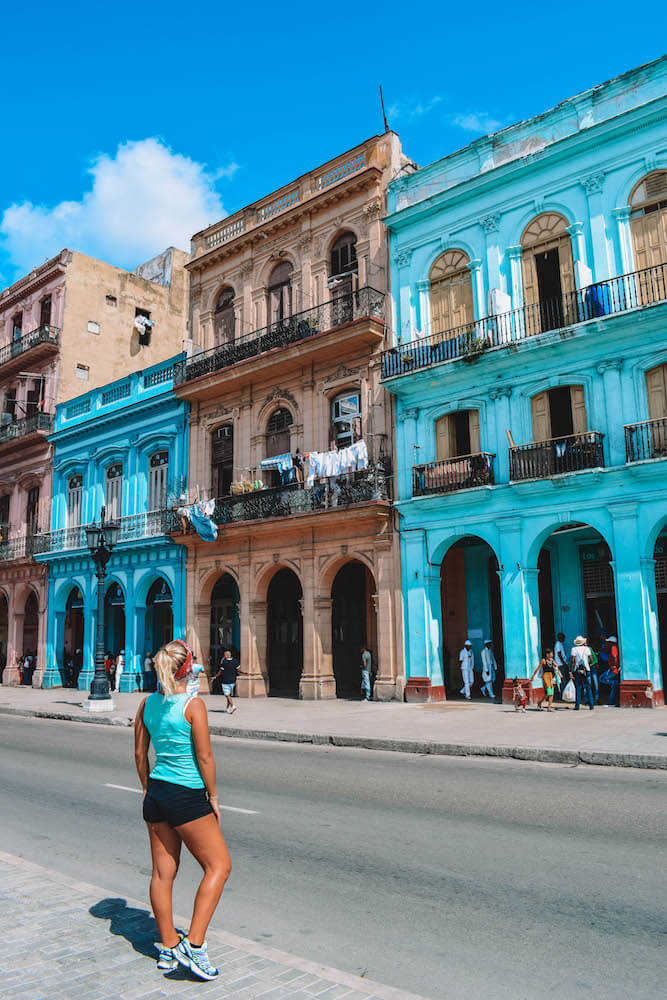 Exploring the colourful colonial streets of Havana, Cuba