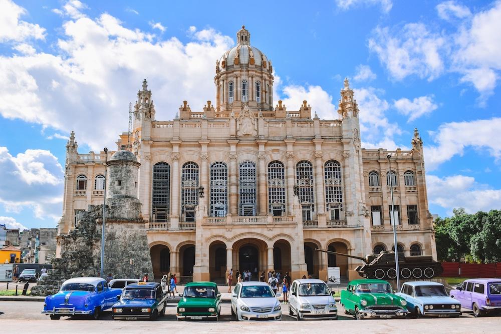 The Revolution Museum in Havana, Cuba