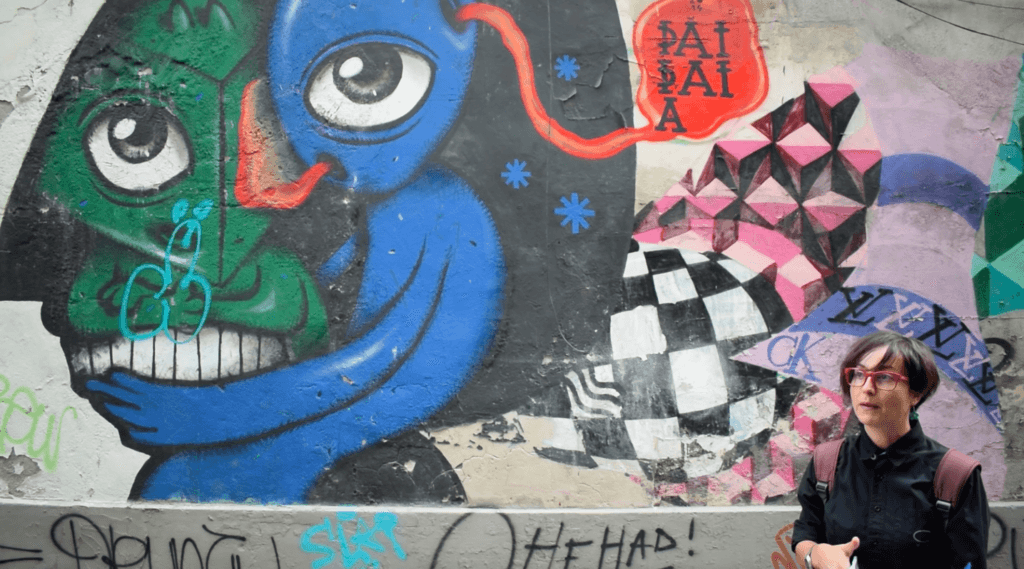Some of the street art we explored during the Alternative Tour of Bucharest