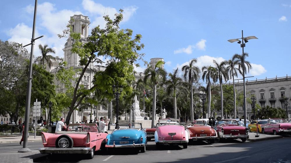 Vintage cars in Havana, Cuba