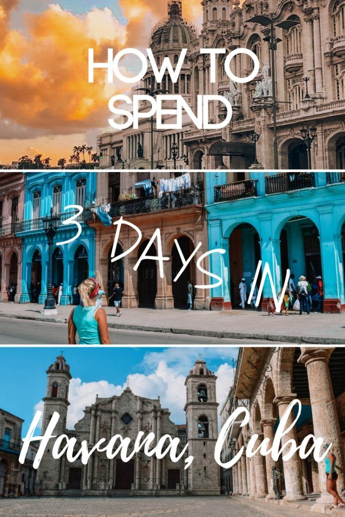 Planning a trip to Havana, Cuba? Find out the best things to do and places to see in this beautiful city if you're only visiting for three days.