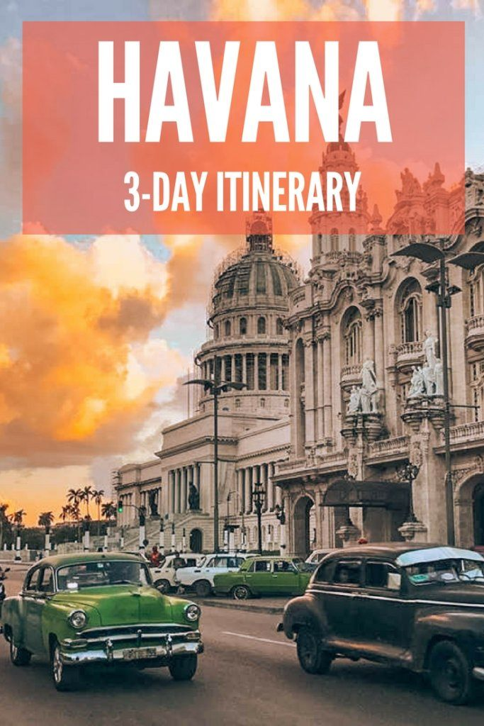 Havana, the capital of Cuba is a beautiful city with a rich culture, vibrant nightlife and awesome restaurants. Find out the best things to do in this amazing city in three days!