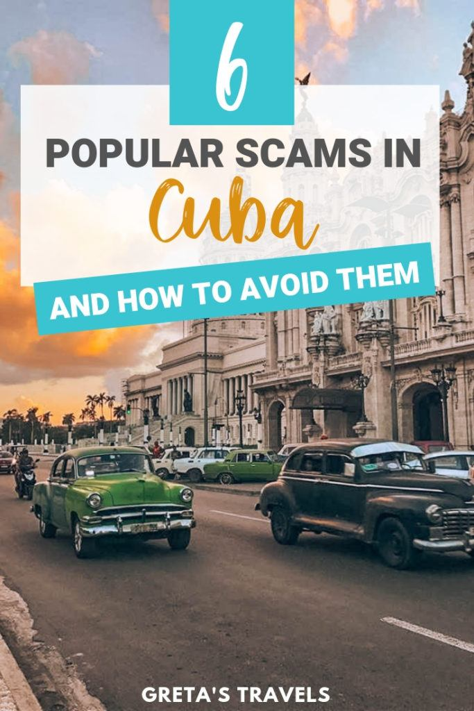 Cuba is a fantastic destination to travel to. Unfortunately like any popular travel destination there are those that take advantage of tourists. Find out the most common tourist scams in Cuba and how to avoid them here! #cuba #caribbean #traveltips #traveladvice #scams #avoidscams #cubatraveltips