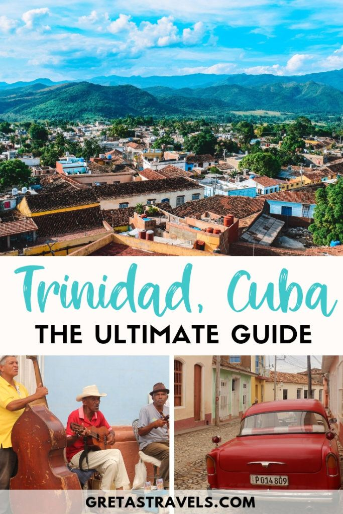 Trinidad is a beautiful colonial town in Cuba. This post will show you all the best things to do in Trinidad, Cuba. If you're planning a short 3 day trip to Trinidad, this is the guide for you. #trinidad #cuba #caribbean #cubatraveltips #traveltips #traveladvice #cubatraveladvice