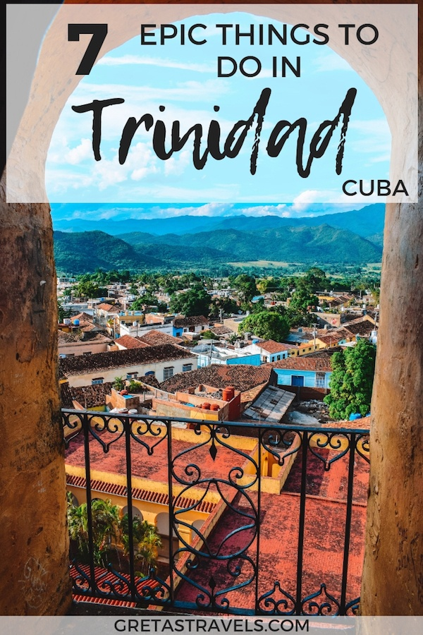 Trinidad is a beautiful colonial town in Cuba. This post will show you all the best things to do in Trinidad, Cuba. If you're planning a short 3 day trip to Trinidad, this is the guide for you. #trinidad #cuba