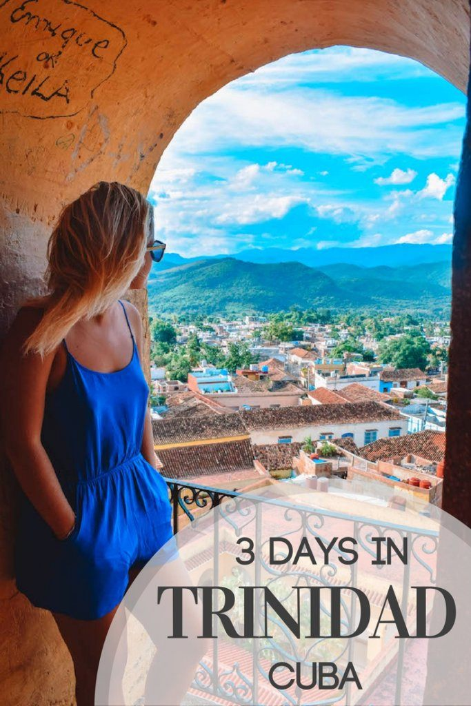 Trinidad is a beautiful colonial town in Cuba. Find out how to spend three days there, including information on all the best things to do, places to see, where to eat and stay.