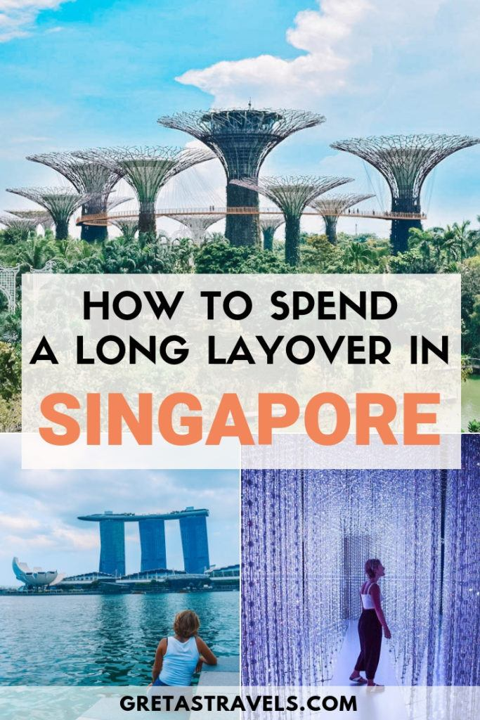 Got a long connecting flight in Singapore? Don't waste it! Discover how to organise your Singapore layover and maximise 12 hours or less in this beautiful city! #singapore #singaporelayover #12hoursinsingapore #asia #traveladvice #flightlayover #layover