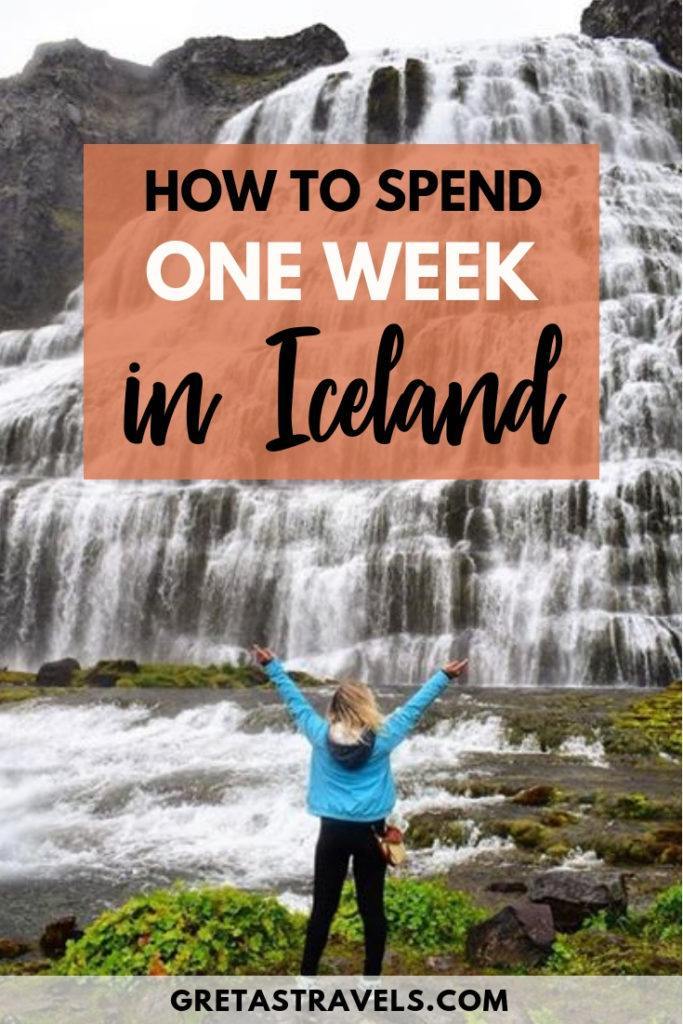 Planning a 7 day trip to Iceland? Find out how to spend 7 days in the land of ice and fire. With its volcanoes, glaciers, waterfalls and stunning landscapes Iceland will be a trip you will never forget, even if you only have 7 days to see it. #iceland #europe #icelantraveladvice #icelandtraveltips #icelanditinerary #7days #travelblog #traveltips