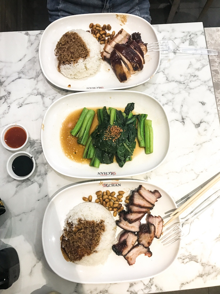 A 5-star Michelin meal for two for under £10 at Hawker Chan in Singapore