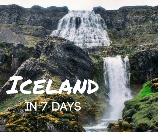 Where Should I Spend Week Vacation In Spain: Iceland 7-Day Itinerary: Best Things To Do In Iceland In 7