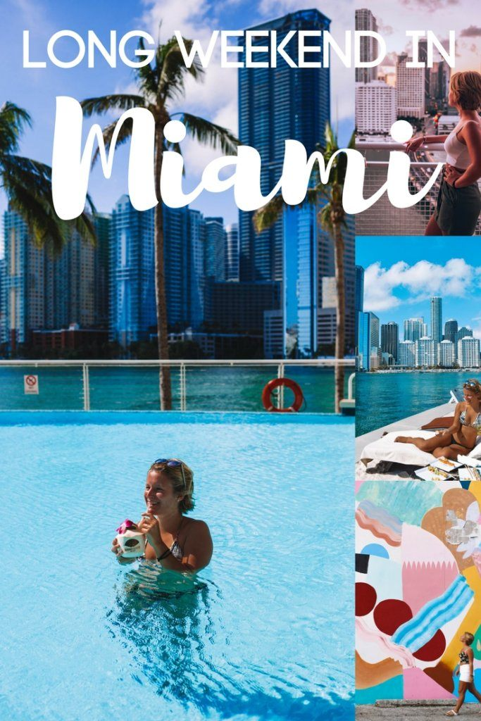 Find out the best things to do in Miami on a long weekend. Including a cycling tour of Wynwood, an Art Deco walking tour of South Beach, visits to the Frost Science and PAMM art museums and much more! #miami #bestofmiami #florida #weekendinmiami