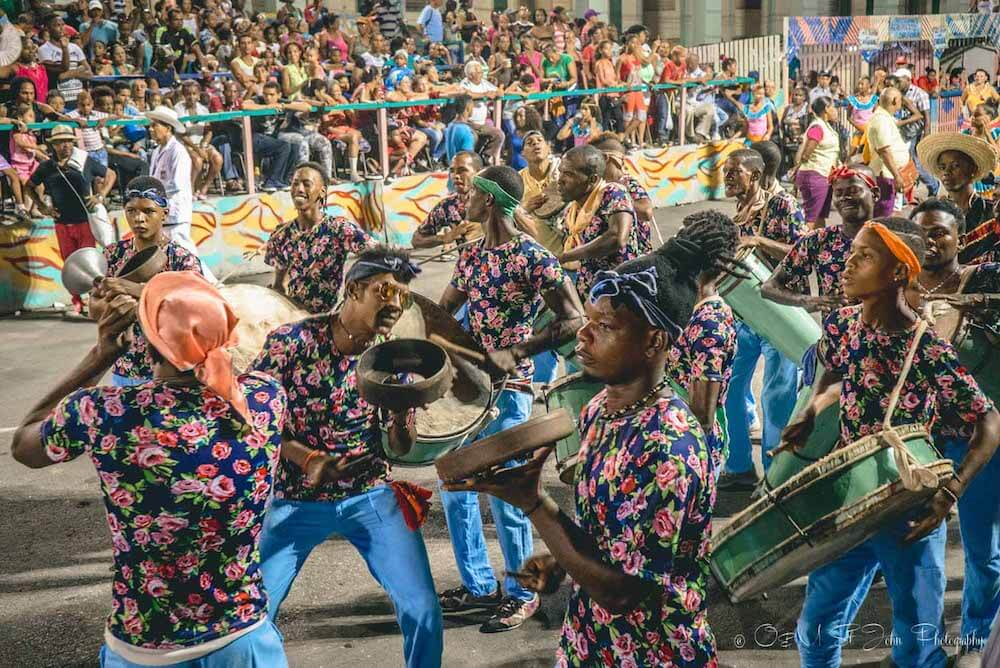 Carnaval in Santiago de Cuba, photo by Drink Tea & Travel