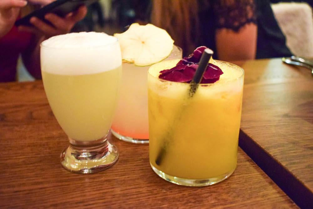 Cocktails at Lima Floral