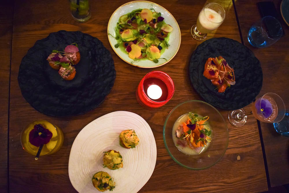 Our choice of starters of Lima Floral