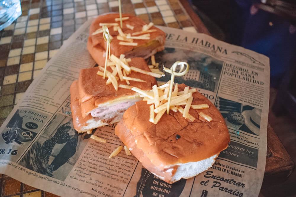 The Cuban sandwich at Old Havana restaurant in Little Havana