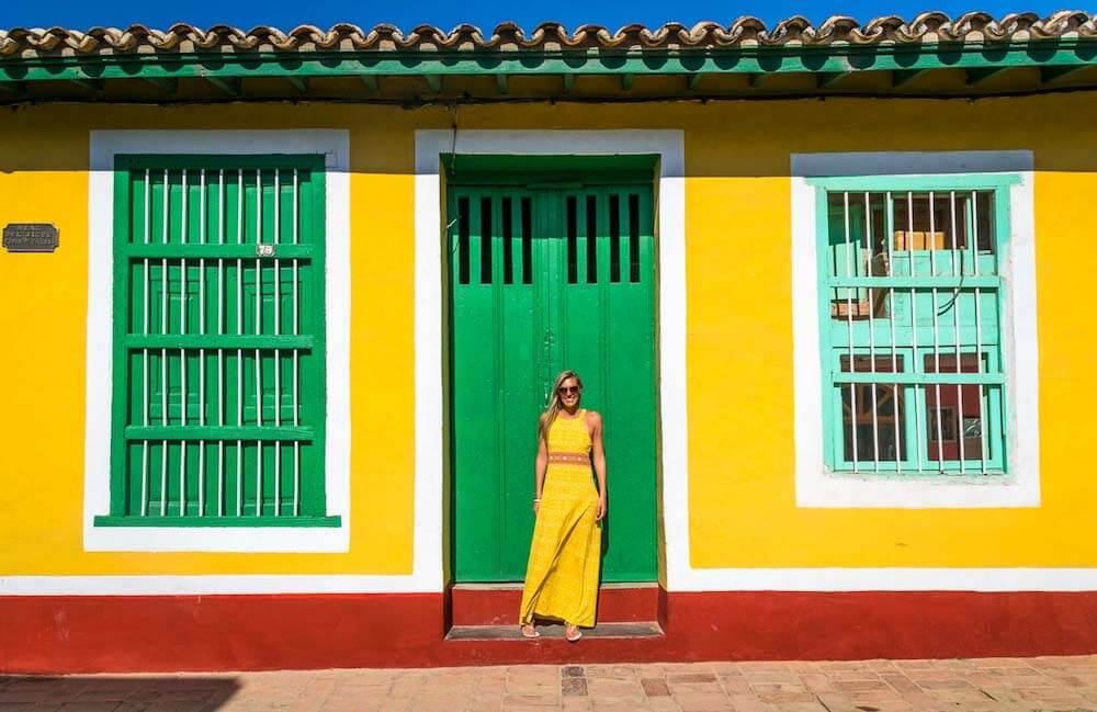 The colourful houses of Trinidad, photo by Getting Stamped
