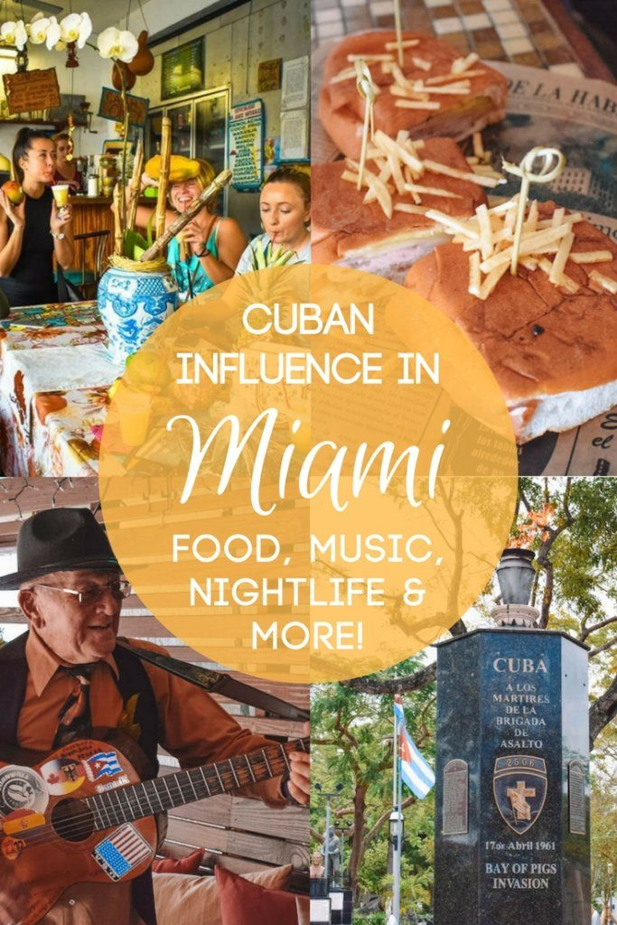 Did you know Miami has a strong Cuban influence? Find out all the best Cuban things to do in Miami, from food, drinks, nightlife and much more! #cubanfoodinmiami #miami #florida