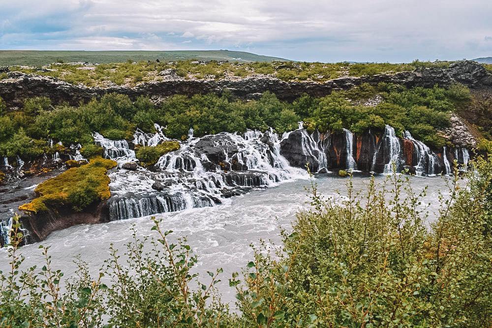 Barnafoss in Iceland